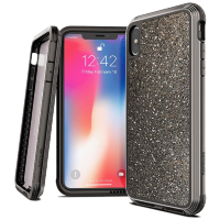 Чехол X-Doria Defense Lux для iPhone Xs Max Dark glitter