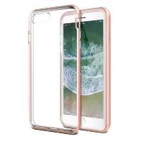 Чехол VRS Design New Crystal Bumper для iPhone 8/7 Plus Розовый