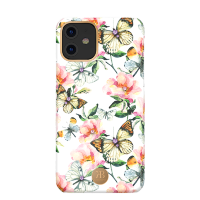 Чехол Kingxbar Blossom для iPhone 11 Peach Flower